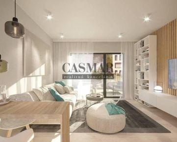 PROJEKT PRÚDY - CASMAR ponúka na predaj 1izb. byt B1.02 v novostavbe