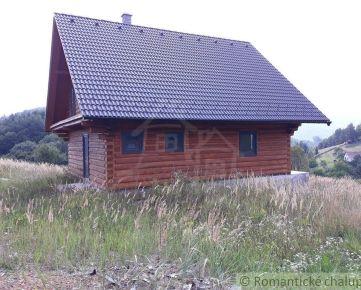 Čarovný drevodom na polosamote neďaleko Valašskej Belej
