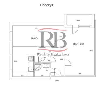 Na predaj 2 izbový byt na Mamateyovej ulici v Petržalke
