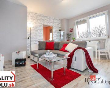REZERVOVANÉ: 2-izbový byt v nadstavbe Latorická ul. BA -Podunajské Biskupice