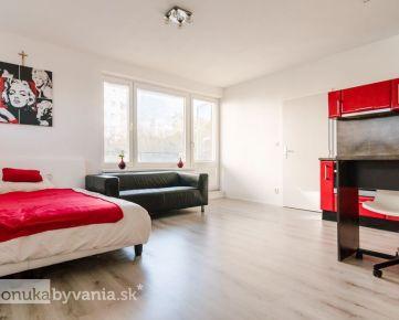 VRAKUNSKÁ, 1-i byt, 40 m2 - NOVOSTAVBA, fitness centrá, zastávka MHD, výborný parking, ŠATNÍK