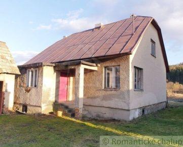 Starší dom na okraji obce Podvysoká
