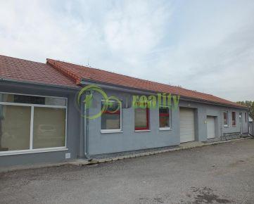 Predaj hala + obchodné priestory + RD Nitra - Zbehy