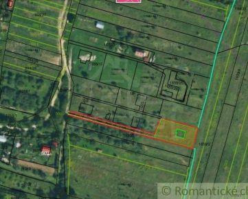 Pozemok na výstavbu RD i chaty, Drienica