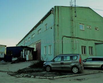 Administratívno-prevádzkova budova 1765 m2 na pozemku 2180 m2 na predaj - Košice Barca