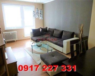 Na prenájom krásny 3 izb. kompl. zariadený byt s balkónom v Ban. Bystrici, časť Radvaň