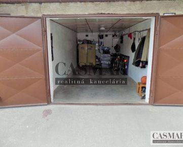 CASMAR RK – Ponúka na predaj murovanú garáž v dobrej lokalite !!!
