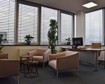 Administratívny priestor na prenájom o výmere 342 m2 v objekte CBC V na Karadžičovej ulici