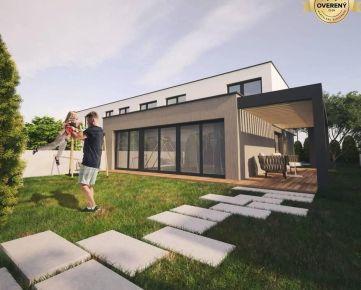 Novostavba rodinný dom v projekte Vlčie Maky, Košice, DOM C1