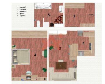 Predám obrovský byt v lokalite Žilina (ID: 100732)