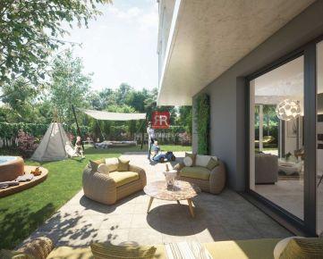 HERRYS - Na predaj 3 izbový apartmán s terasou v projekte Nový Ružinov