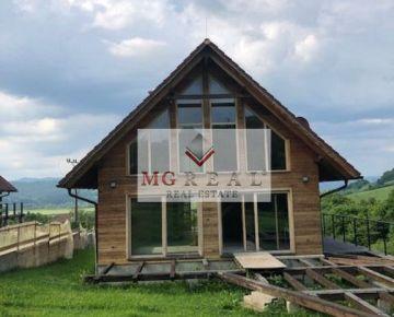 Novostavba-drevodom v Plevníku na predaj! Vhodná aj na chalupu!