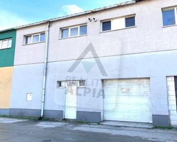 Na predaj výrobný, skladový a administratívny priestor v Trnave