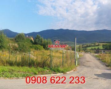 Na predaj stavebný pozemok v obci Polomka, okres Brezno