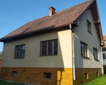 Bystrička na predaj rodinný dom - TOP ponuka
