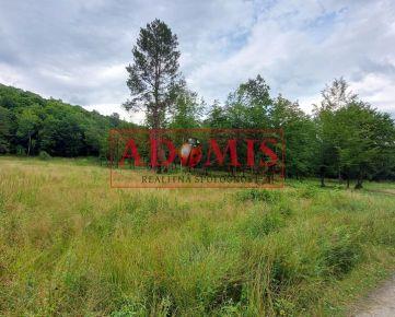 ADOMIS - Predám pekný pozemok č.9 uprostred prírody na výstavbu chaty,600m2 chalupy, aj odpočet DPH,smerom na Detský tábor Kysak Brezie, Košice okolie.