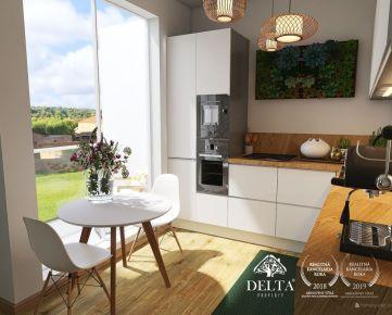 REZERVOVANÉ: DELTA |Bory Bývanie 2, nový 1 - izbový byt so spacou nikou v novostavbe , Lamač / Devínska Nová Ves, 35 m2