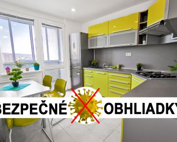 UVÁDZACIA VÝHODNÁ CENA: BAV - Petržalka, Holíčska ul., 3 i, 69,62 m2, kompletná rekonštrukcia 2020