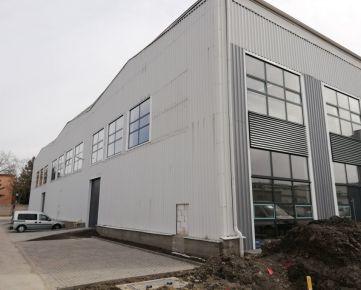 Na prenájom zrekonštruované priestory na výrobu a skladovanie priamo v Bratislave!