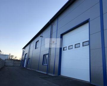 Skladovacie a výrobné priestory v novej hale.