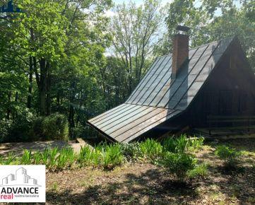 Zrubová chata v krásnom lesnom prostredí, 4 izb , 100 m2, Kučišd. dolina