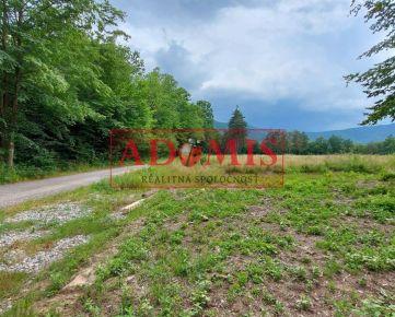 ADOMIS - Predám pekný pozemok č.8 uprostred prírody na výstavbu chaty,chalupy,600m2,aj odpočet DPH,smerom na Detský tábor Kysak Brezie, Košice okolie.