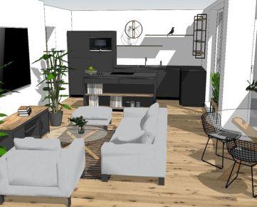 CASMAR RK - NOVOSTAVBA 3 izb. priestranný byt s loggiou