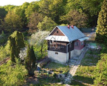 """""""RESERVÉ"""" Jedinečná ROMANTICKÁ Chalupa / Chata + záhrada (716 m2) Čermeľ / Košice - Sever"""