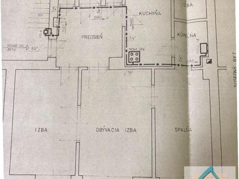 3-izb. byt 115m2, kompletná rekonštrukcia