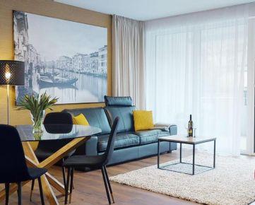 Reprezentatívny 3-izbový byt, terasa, novostavba, centrum, parkovacie státie