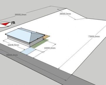 Pozemok pre bývanie Nová Baňa 3495m2 na predaj - exkluzívne v Rh+