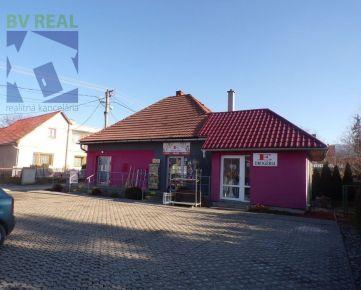 BV REAL Na predaj polyfunčný objekt aj s 2 izbovým bytom obec Čereňany okres Prievidza FM1011