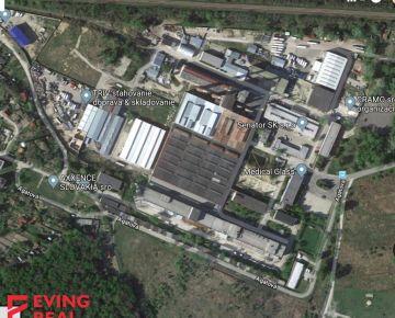 Pozemok 900 m2 v priemyselnej zóne, Agátová, Dúbravka