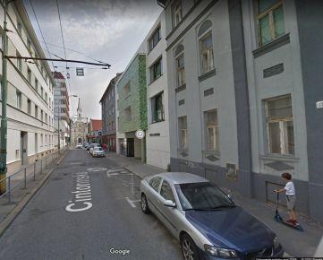 Prenájom parkovacieho státia,  Cintorínska ulica, Staré Mesto, Bratislava.
