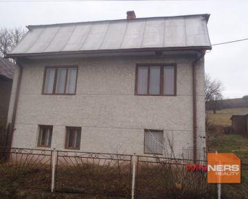 Starší rodinný dom v obci Repejov s veľkým pozemkom