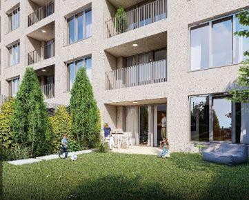 2 izbový byt 57m2 s predzáhradkou 56m2 (D1) v projekte NOVANTA PETRŽALKA