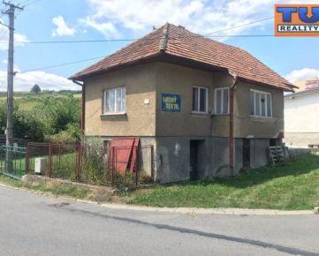 EXKLUZÍVNE na predaj dom s pozemkom 245m2 v Tvrdosíne. CENA: 28 500,00 EUR