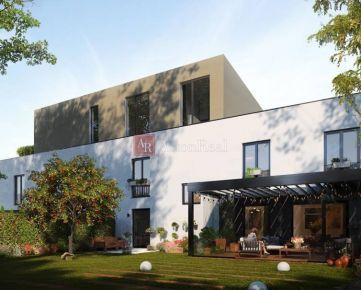 NOVOSTAVBA predaj 4 izb. byt s balkónom a záhradkou na Graniari - B. B.
