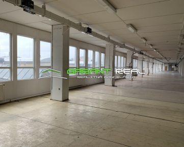 GARANT REAL - prenájom výrobná hala 1500 m2, Prešov, širšie centrum, Budovateľská ul.