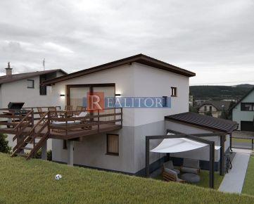 PREDAJ, novostavba rodinného domu Banská Bystrica, časť Rakytovce, pozemok 730 m2