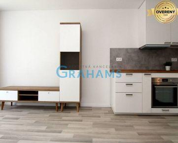 GRAHAMS - PRENÁJOM 1 izb byt 33m2 + 4m2 balkón, novostavba Starý Háj