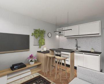 REZERVOVANÉ • 1 izbový byt • Rezervácia od 10% z kúpnej ceny