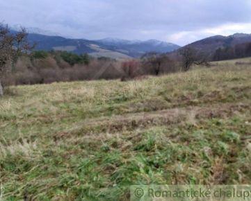 Väčší pozemok s nádherným výhľadom na okraji Lysej pod Makytou