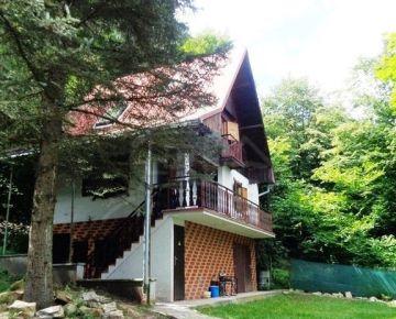NOVÁ CENA!! Útulná chata uprostred lesa v blízkosti priehrady Môťová