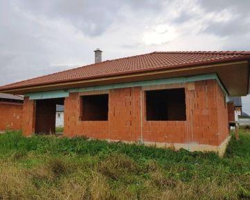 Predáme 4-izb. novostavbu RD, 123 m2, Bánov, okr. Nové Zámky