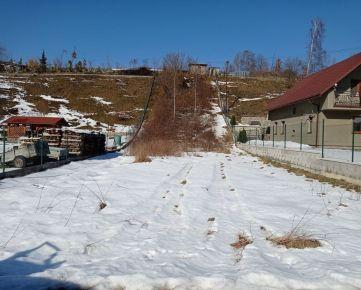 Predaj stavebného pozemku v obci Čierne