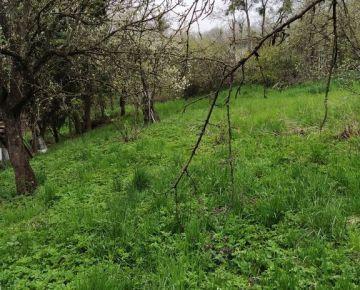 Na predaj záhradný pozemok so záhradnou chatkou, KE Vyšné Opátske