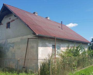 EXKLUZÍVNE na predaj dva domy s pozemkom v obci Dolná Strehová