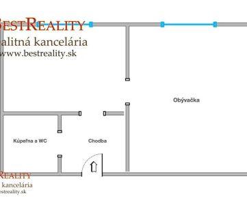 1 izbový byt na predaj pri  OC VIVO www.bestreality.sk