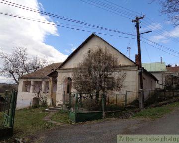 Gazdovský dom s veľkým pozemkom pri Lučenci
